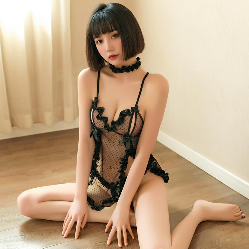 性感情趣内衣服超骚透明睡衣裙诱惑火辣激情套装可爱服装制服透视