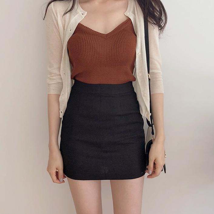 黑色包裙短裙夏季高腰显瘦一步裙半身裙短款a字裙紧身性感包臀裙
