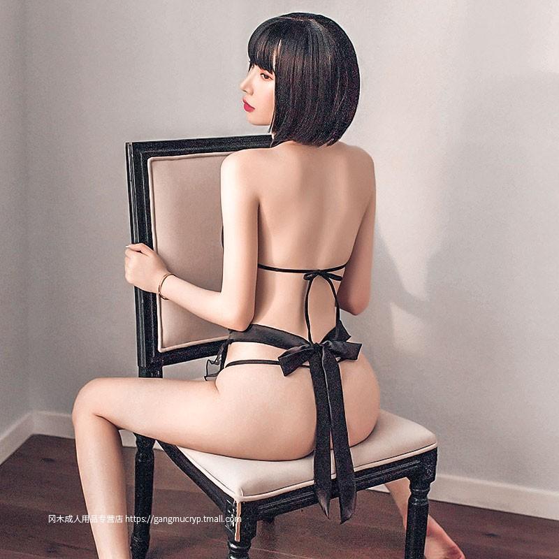 性感旗袍绑带围裙套装情趣内衣制服诱惑激情超骚服装火辣挑逗