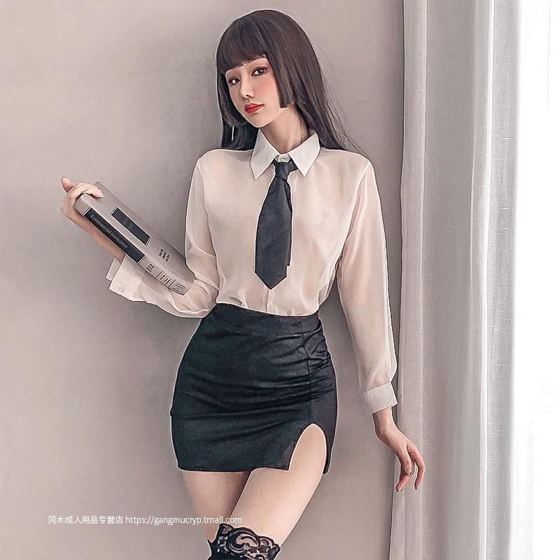性感情趣内衣套装超骚办公室ol秘书装角色扮演床上激情诱惑制服